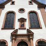 Die Fassade der barocken Welschnonnenkirche.