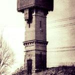 Der ehemalige Wasserturm in der Saffiger Straße.