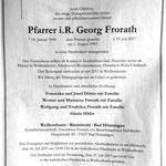 Die Todesanzeige in der Rhein-Zeitung am 22.07.2017