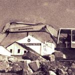 Nach der Sprengung ist nichts als Schutt von der ehemals so stolzen Nette-Brauerei übrig.