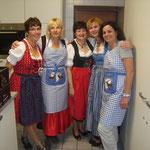 Das Küchenteam beim Oktoberfest 2014.