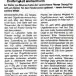 Pressemitteilung im Mitteilungsblatt für die VG Weißenthurm KW 37/2017