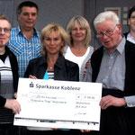 Statt Geschenke hatte sich der Jubilar Georg Frorath Spenden für die Orgelrestaurierung gewünscht.