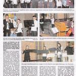 Bericht über das Ensemblekonzert der Kreismusikschule im Mitteilungsblatt