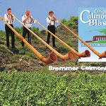 Besondere Gäste beim Oktoberfest 2015: Die Calmont-Bläser mit ihren Alphörnern