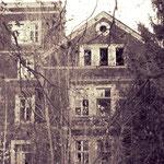Eina Villa am Rhein, dem Verfall preisgegeben...