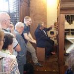 Auch der manuelle Blaseblag wurde wieder eingebaut, so kann man die Orgel nicht nur mit Strom, sondern auch wieder mit Muskelkraft betrieben werden.