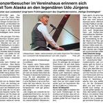 Bericht im Mitteilungsblatt für die VG Weißenthurm, Ausgabe 15/2018.