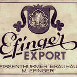 Die Brauerei Efinger und spätere Gaststätte Ohm-Effinger gibt es auch schon lange nicht mehr.