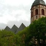 Außenansicht St. Stephan, Mainz.