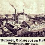 Ein altes Bild der Nette-Brauerei aus besseren Tagen.