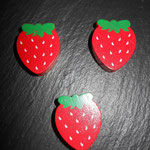 "Motivperle ""Erdbeerli"""