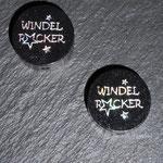 "Motivperlen ""Windelrocker""  (schwarz)"