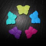 """""""Schmetterling"""" (lemon, skyblau, pink, lila, türkis)"""