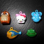 Motivglöggli (Eule, Kitty, Elefant, Fisch, Frosch)