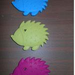 Beissigel (skyblau, lemon, pink)
