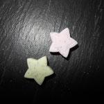 """""""Star shabby"""" (lemon, rosa)"""