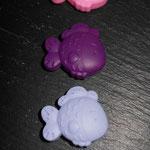 """""""Fischli"""" (gelb, rosa, purpur, flieder, babyblau)"""