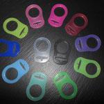 MAM Adapter (rosa, pink, rot, lila, lemon, grün, türkis, hellblau, dunkelblau, gelb, transparent, schwarz)