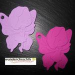 Beissfee (lila, pink)