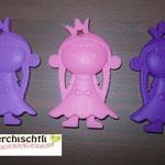 Beissprinzessin (lila, rosa, lavendel)
