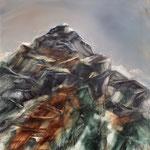 """""""So lenk ich meine Schritte, durchs Tal hin zu den Höhen"""" 60 x 60 cm Öl/Leinwand"""