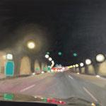 Tunnelblick I 2017 80/80 cm Öl/Leinwand