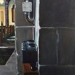 Abtei IV  2013  80 x 100 cm  Öl/Leinwand