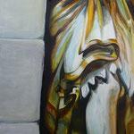 Abtei II  2013  110 x 120 cm  Öl/Leinwand