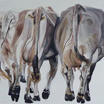 Three Ladies  2015    130 x 110 cm  Öl/Leinwand