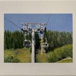 Urlaubsgrüße II 2019 30 x 24 cm Acryl/Öl/Leinwand