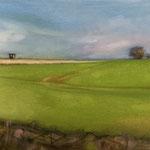 Feld-Blick III 2020 30 x 24 cm Öl/Leinwand