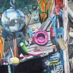 Strandgut 1 2010 140 x 100 cm Öl/Leinwand
