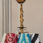 Leuchter 2013 50 x 150 cm Öl/Leinwand