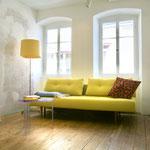 Wohnzimmer im Weinhaus Moser