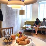 Frühstück im Weinhaus