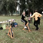 2017: Een smoothie fietsen in het Lumièrepark Almere