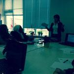 2014: Presentatie voor ouders bij de Tierelier