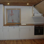 Küche Ferienwohnung 2 - nächste Woche dann Foto MIT Fenster :-)