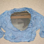 Gips-Jacke mit Spiegel