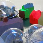 ARCHIDOM WUNSCHHAUS • Objekt • Stahl, Farbe, Kunststoff, Holz
