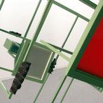 ARCHIDOM WUNSCHHAUS • Skulptur • Stahl, Farbe, Plexiglas, Folie
