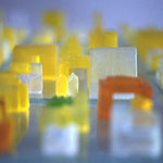 SOAP-CITY • Seifenguss, Glas, Folie • 2009