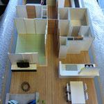 S=1/25 室内模型 製作日数2週間