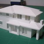 S=1/50 ホワイト 分解模型