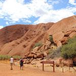 Dat is der Uluru