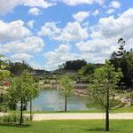 Outdoorkitchen Bereich im Botanischen Garten