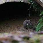 ehemaliger Abfluss des Turbinenwassers