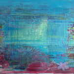 Inner Landscape2, Acrylic on canvas, 120 x 80 cm, Available at Deer Daddy - 2200 euro