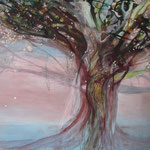 Tree, acrylic on canvas, 140 x 160 cm, 2010, SOLD, Private Collection Oss